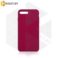 Бампер Silicone Case для iPhone 7 Plus / 8 Plus рубиновый #36