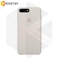 Бампер Silicone Case для iPhone 7 Plus / 8 Plus бежевый #10