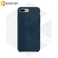 Бампер Silicone Case для iPhone 7 Plus / 8 Plus берлинская лазурь #35
