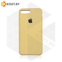 Бампер Silicone Case для iPhone 7 Plus / 8 Plus песочный #28