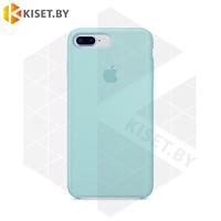 Бампер Silicone Case для iPhone 7 Plus / 8 Plus мятный #17