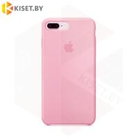 Бампер Silicone Case для iPhone 7 Plus / 8 Plus розово-персиковый #12