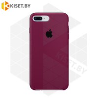 Бампер Silicone Case для iPhone 7 Plus / 8 Plus марсала #52
