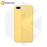 Бампер Silicone Case для iPhone 7 Plus / 8 Plus желтый #4