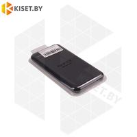 Бампер Silicone Case для iPhone 7 / 8 / SE2 2020 черный #18 без логотипа