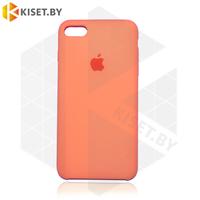 Бампер Silicone Case для iPhone 7 / 8 / SE (2020) папайа #56