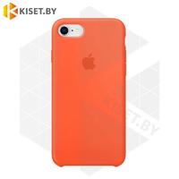 Бампер Silicone Case для iPhone 7 / 8 / SE (2020) оранжевый #2