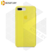 Бампер Silicone Case для iPhone 7 / 8 / SE (2020) желтый #4