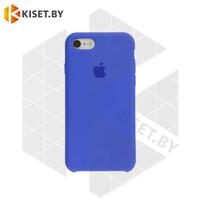 Бампер Silicone Case для iPhone 7 / 8 / SE (2020) васильковый #53