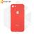 Силиконовый чехол Magnetic со встроенной пластиной для Xiaomi Redmi 6A красный