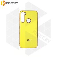 Силиконовый чехол Plating для Apple iPhone 7 / 8 Plus неоново-желтый