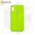 Бампер Silicone Case для iPhone X / Xs салатовый #31