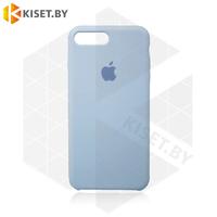 Бампер Silicone Case для iPhone 7 Plus / 8 Plus серый #26