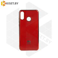 Силиконовый чехол Plating для Apple iPhone 7 / 8 Plus красный