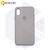 Бампер Silicone Case для iPhone X / Xs платиново-серый #23