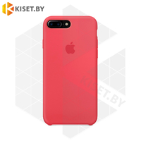 Бампер Silicone Case для iPhone 7 Plus / 8 Plus амарантовый #39