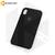 Бампер Silicone Case для iPhone Xr черный #18 без логотипа