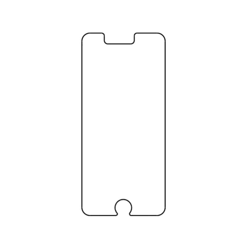 Защитная гидрогелевая пленка для Apple iPhone 6 Plus / 6s Plus на экран до скругления прозрачная