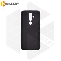 Силиконовый чехол матовый для Nokia 6.3 (2020) / X71 черный