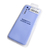 Soft-touch бампер Silicone Cover для Realme 6 Pro фиалковый с закрытым низом