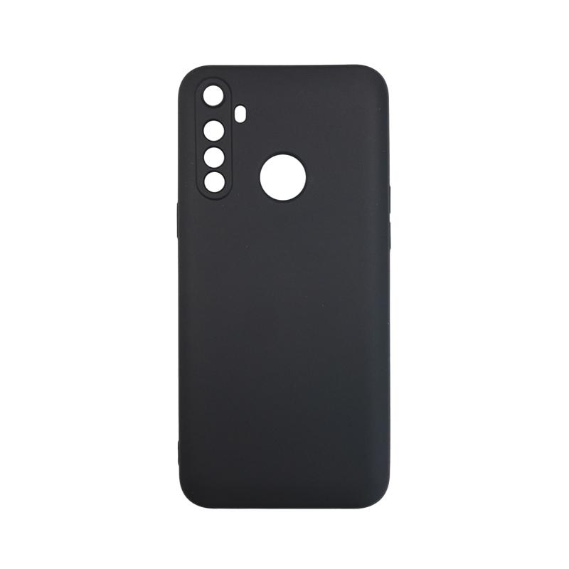 Силиконовый чехол KST MC для Realme 6i черный матовый