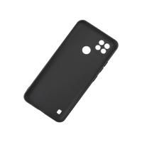 Силиконовый чехол KST MC для Realme C21 черный матовый