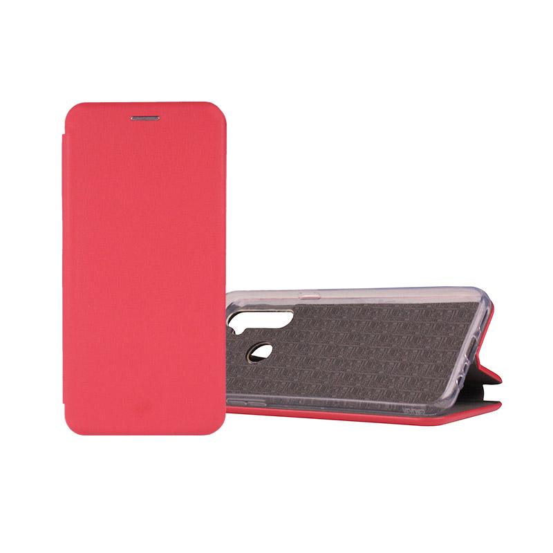 Чехол-книжка Book Case 3D с визитницей для Realme C3 красный