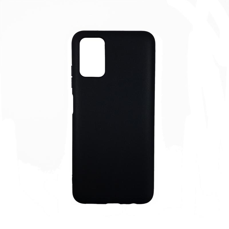Силиконовый чехол KST MC для Samsung Galaxy A03S черный матовый