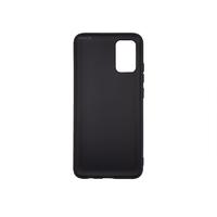Силиконовый чехол матовый для Samsung Galaxy A02S черный