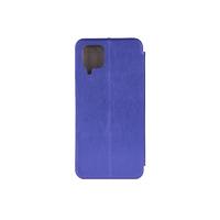 Чехол-книжка Book Case 3D с визитницей для Samsung Galaxy A12 синий