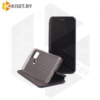 Чехол-книжка Book Case 3D с визитницей для Samsung Galaxy A21S / A217 черный