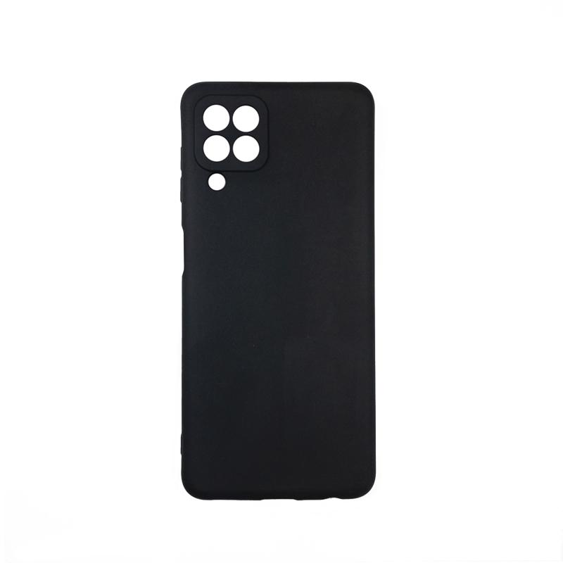 Силиконовый чехол KST MC для Samsung Galaxy A22 4G черный матовый