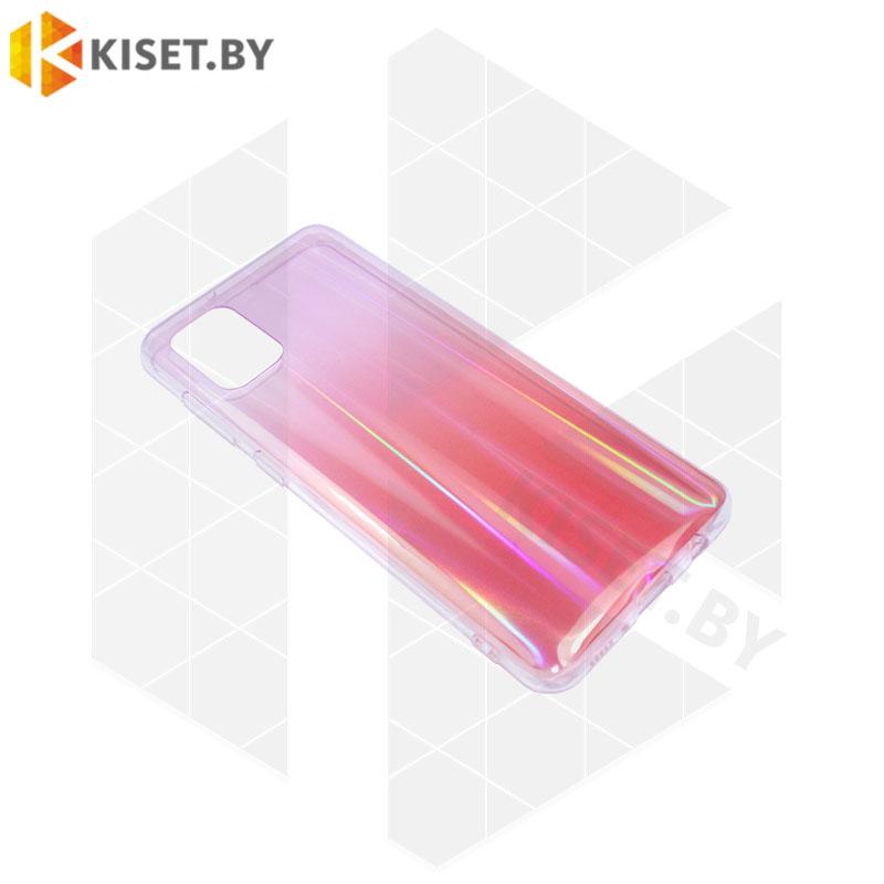 Силиконовый чехол Polar TPU Case для Huawei P40 Lite / Nova 6SE красный