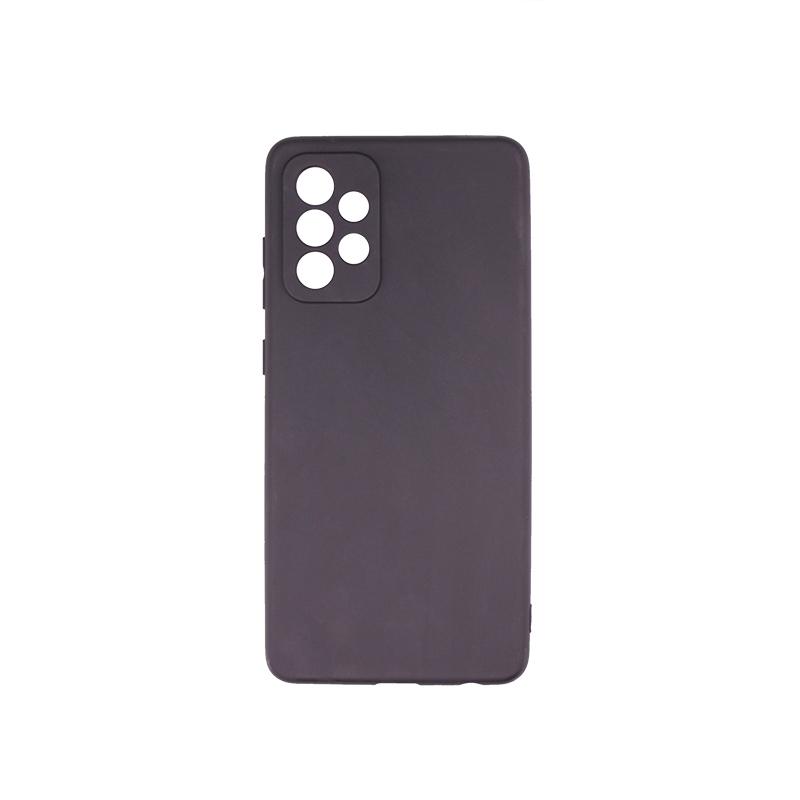 Силиконовый чехол матовый для Samsung Galaxy A32 4G черный