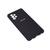 Soft-touch бампер Silicone Cover для Samsung Galaxy A72 черный с закрытым низом