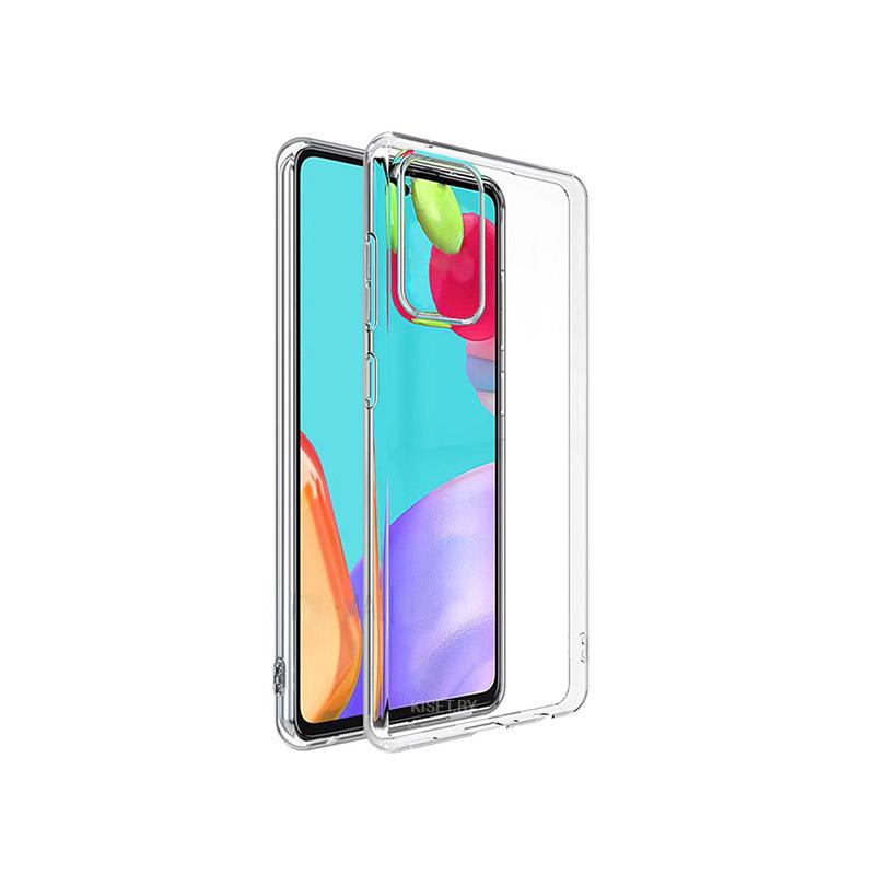 Силиконовый чехол Ultra Thin TPU для Samsung Galaxy A32 4G прозрачный