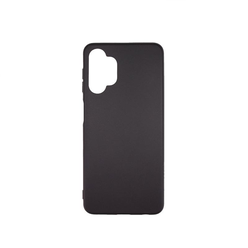 Силиконовый чехол матовый для Samsung Galaxy A32 5G черный