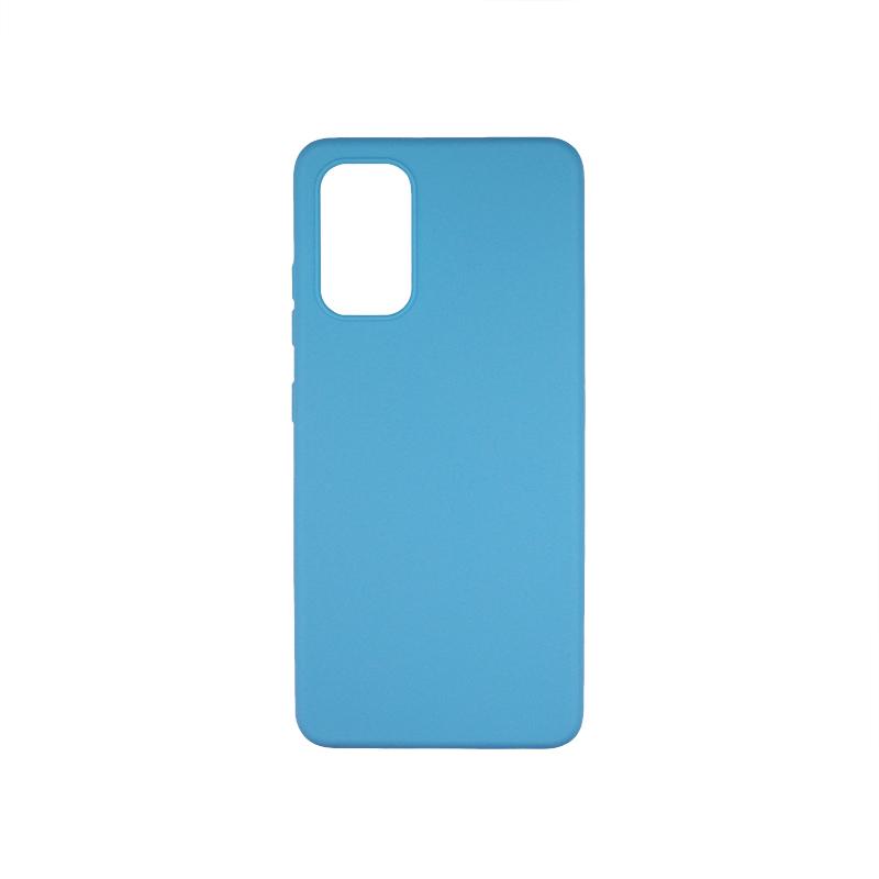 Силиконовый чехол матовый для Samsung Galaxy A32 4G бирюзовый