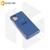 Soft-touch бампер Silicone Cover для Samsung Galaxy M51 синий с закрытым низом