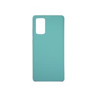 Soft-touch бампер Silicone Cover для Samsung Galaxy Note 20 бирюзовый