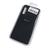 Soft-touch бампер Silicone Cover для Samsung Galaxy S21 FE черный с закрытым низом
