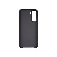 Soft-touch бампер Silicone Cover для Samsung Galaxy S21 черный