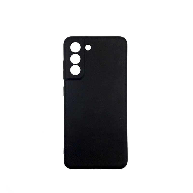 Силиконовый чехол KST MC для Samsung Galaxy S21 FE черный матовый