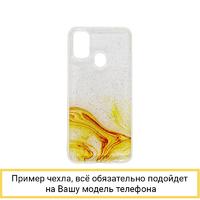 Силиконовый чехол Aquarelle для Samsung Galaxy M21 / M30S желтый