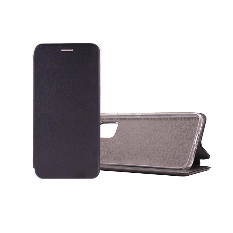 Чехол-книжка Book Case 3D с визитницей для Xiaomi Mi 10 Lite черный