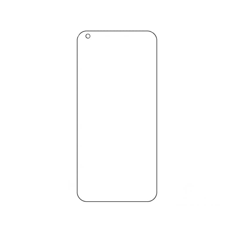 Защитная гидрогелевая пленка для Xiaomi Mi 11 на весь экран прозрачная