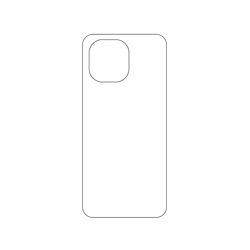 Защитная гидрогелевая пленка для Xiaomi Mi 11 на заднюю крышку