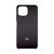 Soft-touch бампер Silicone Cover для Xiaomi Mi 11 Lite черный