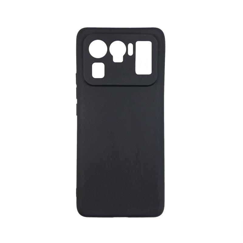 Силиконовый чехол KST MC для Xiaomi Mi 11 Ultra черный матовый