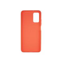 Силиконовый чехол матовый для Xiaomi Redmi 9T оранжевый
